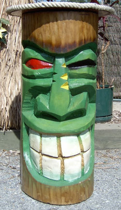 Tiki Face Stool Pictures To Pin On Pinterest Pinsdaddy
